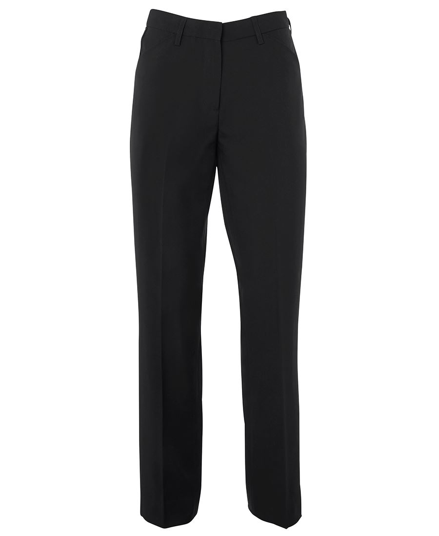 Ladies Mechanical Stretch Trouser Black Front