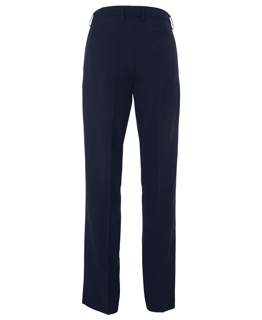 Ladies Mechanical Stretch Trouser Navy Back