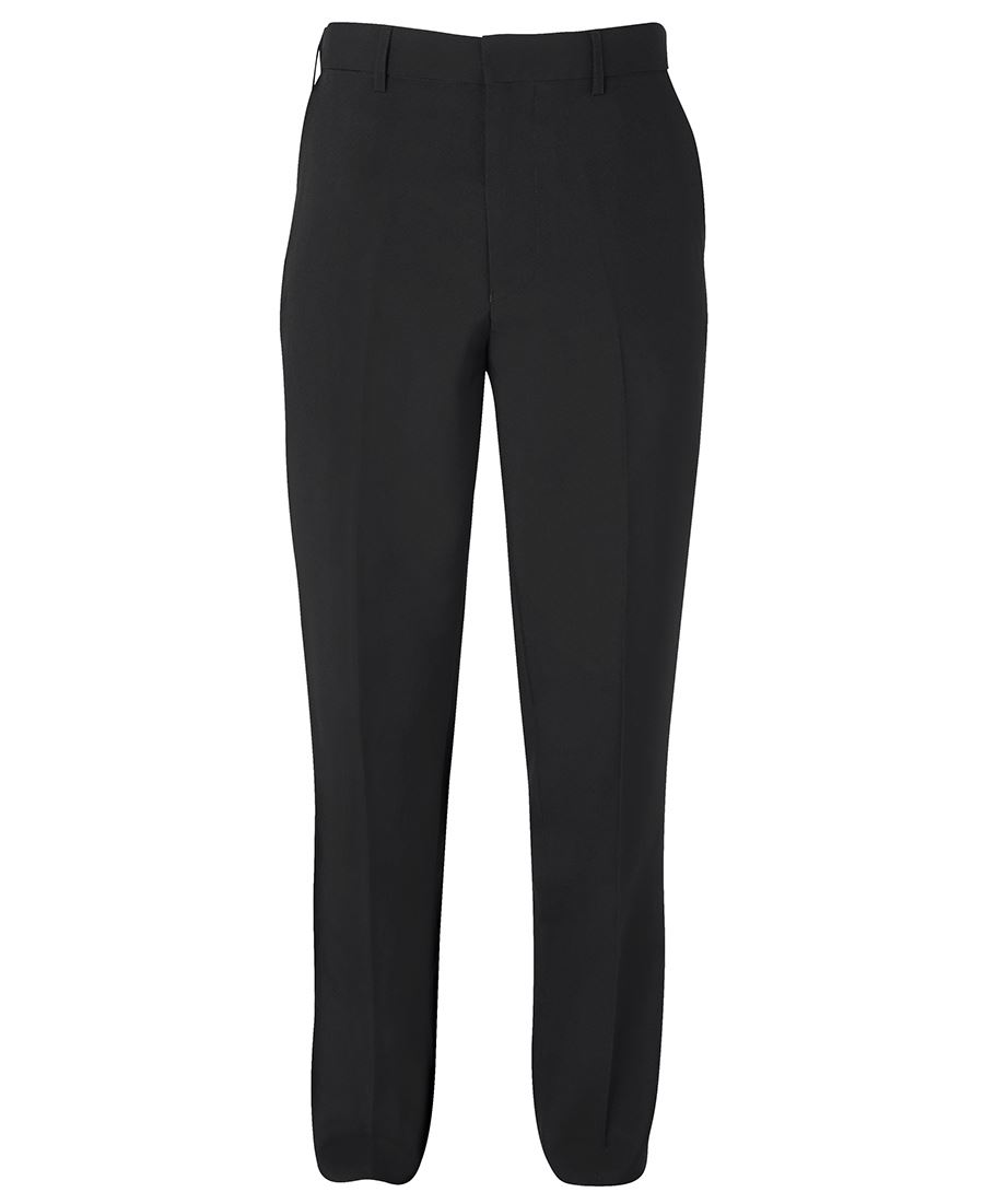 Mens Mechanical Stretch Trouser Black Front