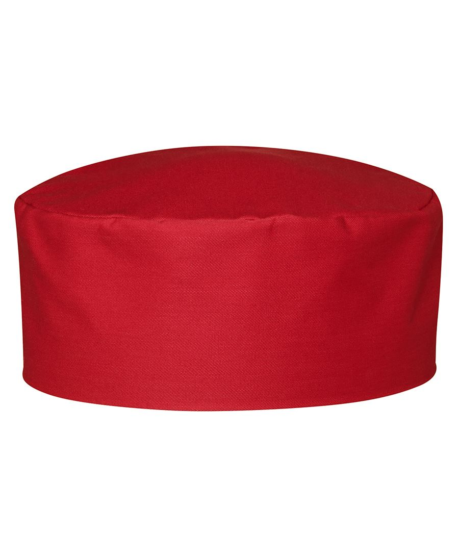 Chefs Cap Red Front