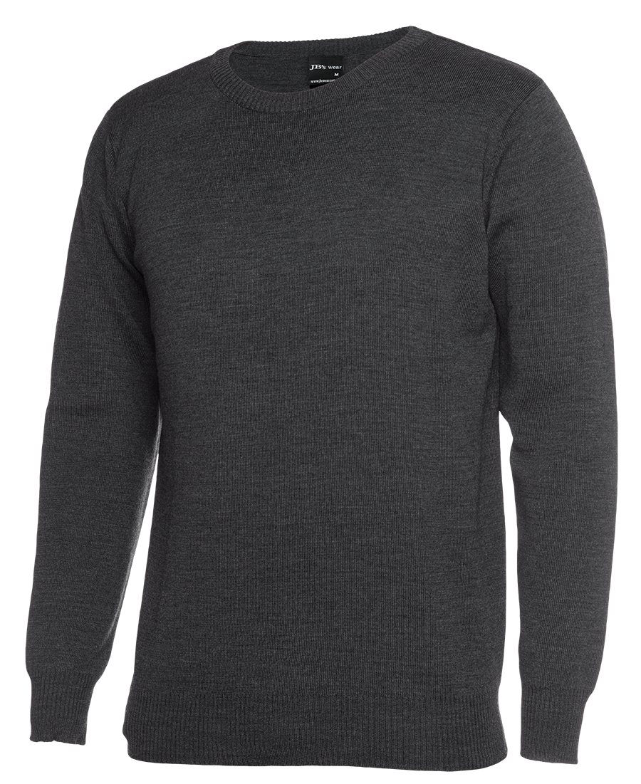 Mens Knitted Crew Neck Jumper