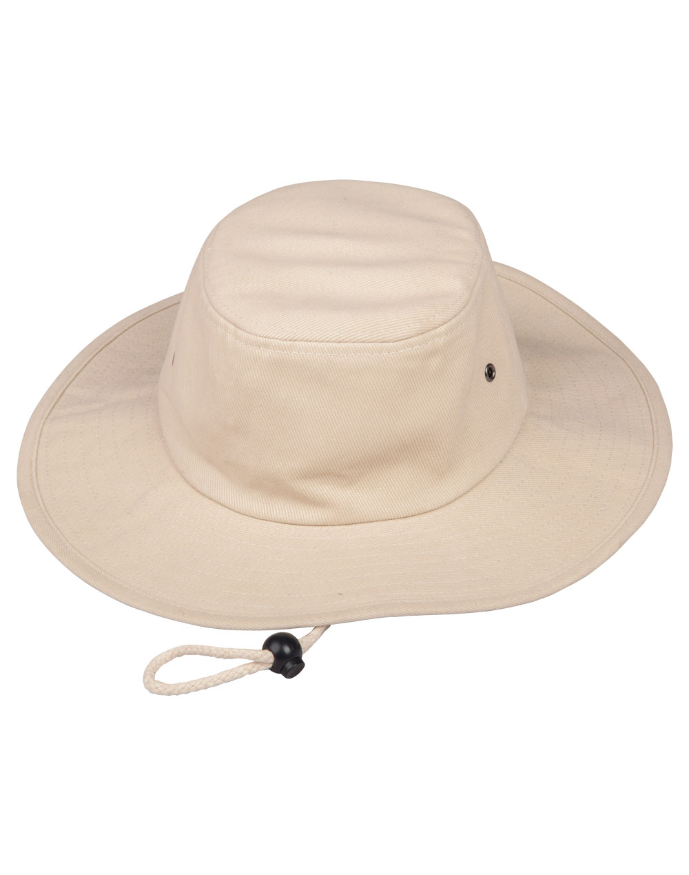 Heavy Brushed Cotton Surf Hat Natural