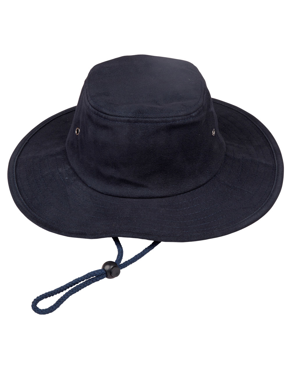 Heavy Brushed Cotton Surf Hat Navy