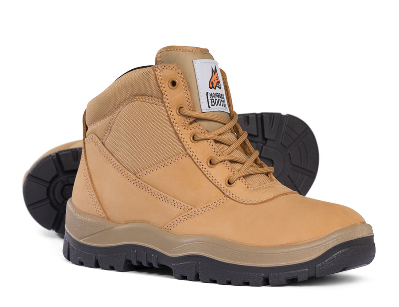 Lace Up Boot - Tan