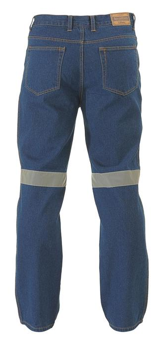 Rough Rider Jeans 3M Reflective Tape Back