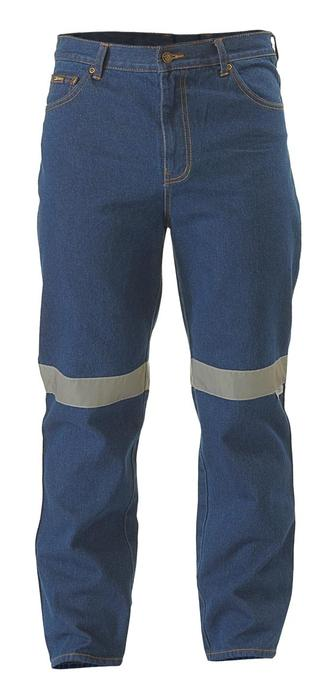 Rough Rider Jeans 3M Reflective Tape Front