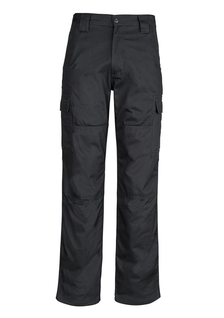 Midweight Drill Cargo Pant - Black